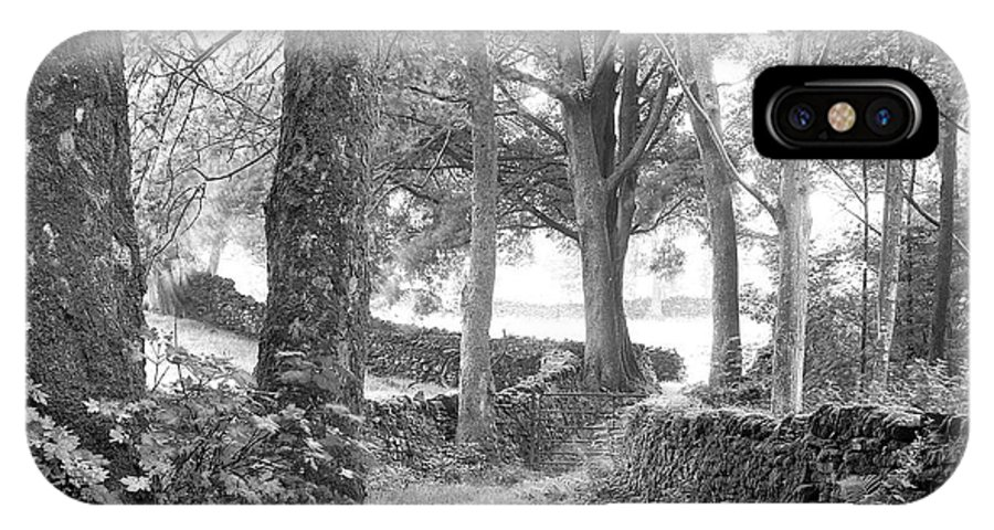 IPhone X Case featuring the photograph Woods, Troutbeck, Windermere by Iain Duncan