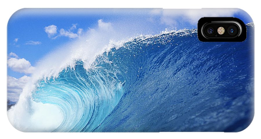 Afternoon IPhone X Case featuring the photograph World Famous Pipeline by Vince Cavataio - Printscapes