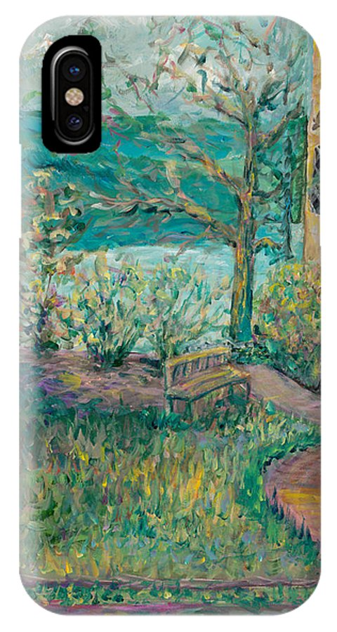 Big Cedar Lodge IPhone Case featuring the painting Worman House At Big Cedar Lodge by Nadine Rippelmeyer