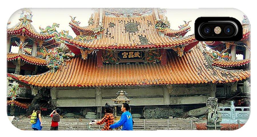 Wu Chang Gong IPhone X Case featuring the photograph Wu Chang Gong by HweeYen Ong