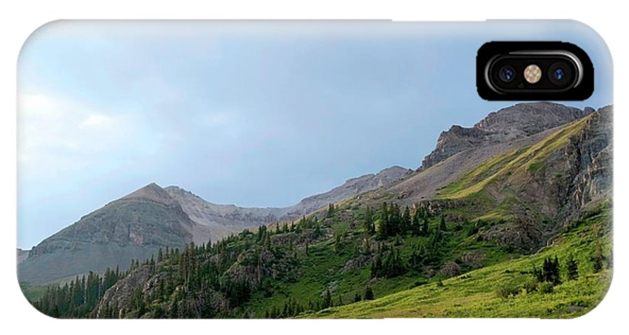 Yankee Boy Basin IPhone X Case featuring the photograph Yankee Boy Basin by Chris Anthony