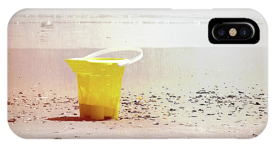 Ocean IPhone X Case featuring the photograph Yellow Bucket by JAMART Photography