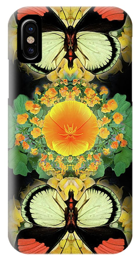Botanical IPhone X Case featuring the photograph Yellow Poppy by Bruce Frank