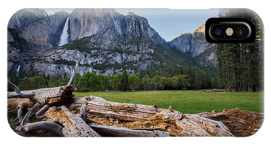 Yosemite Valley IPhone X Case featuring the photograph Yosemite Falls by Michelle Choi