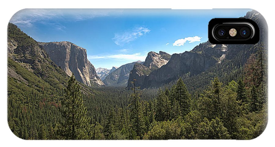 Yosemite Valley IPhone X Case featuring the photograph Yosemite Valley 3 by Phil Abrams