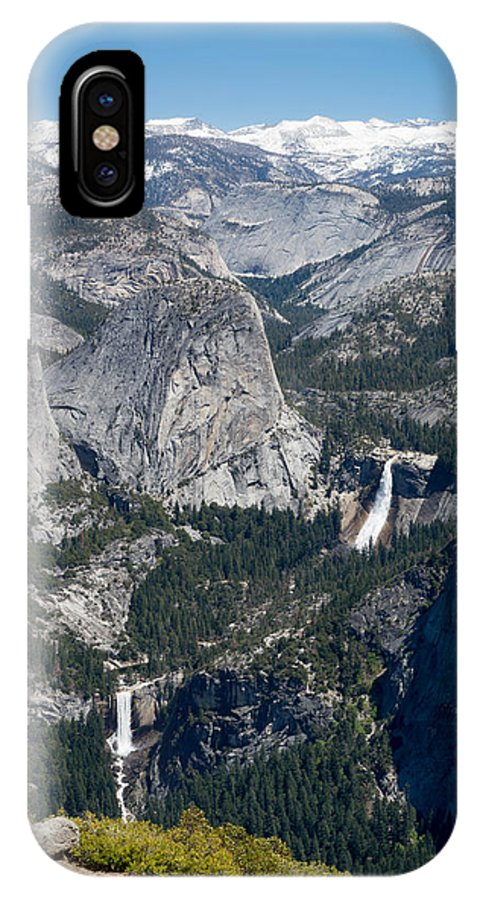 Yosemite Valley IPhone X Case featuring the photograph Yosemite Washburn Point by Michelle Choi