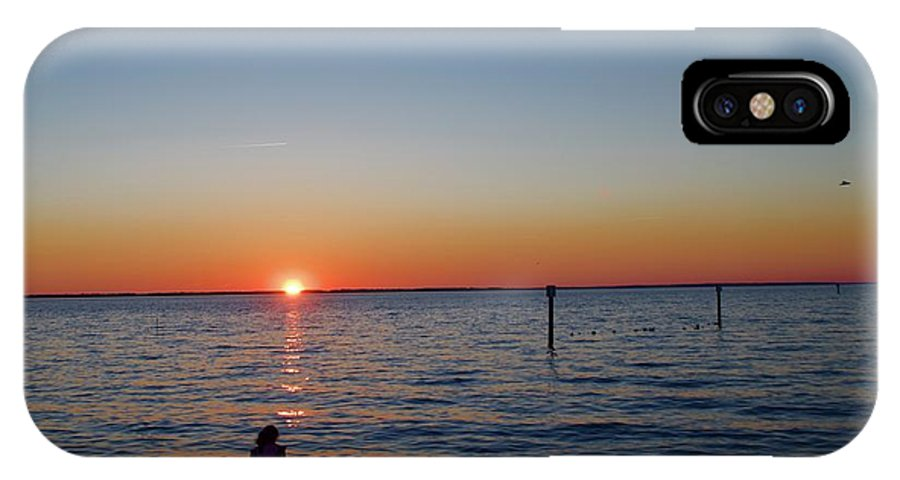 IPhone X Case featuring the photograph Huntington Beach by Randy Castaneda