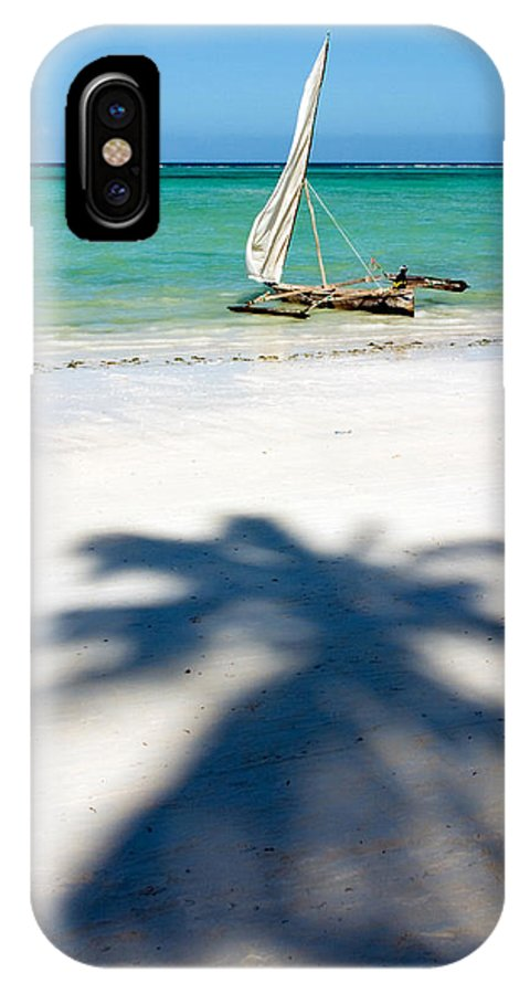 3scape IPhone X Case featuring the photograph Zanzibar Beach by Adam Romanowicz