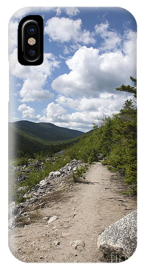 White Mountains IPhone X Case featuring the photograph Zealand Notch - White Mountains New Hampshire Usa by Erin Paul Donovan