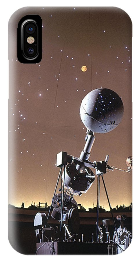 20th Century IPhone X Case featuring the photograph Zeiss Planetarium Projector by Granger