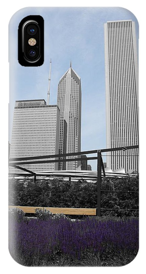 Cityscape IPhone X Case featuring the photograph Zen Within by Dylan Punke