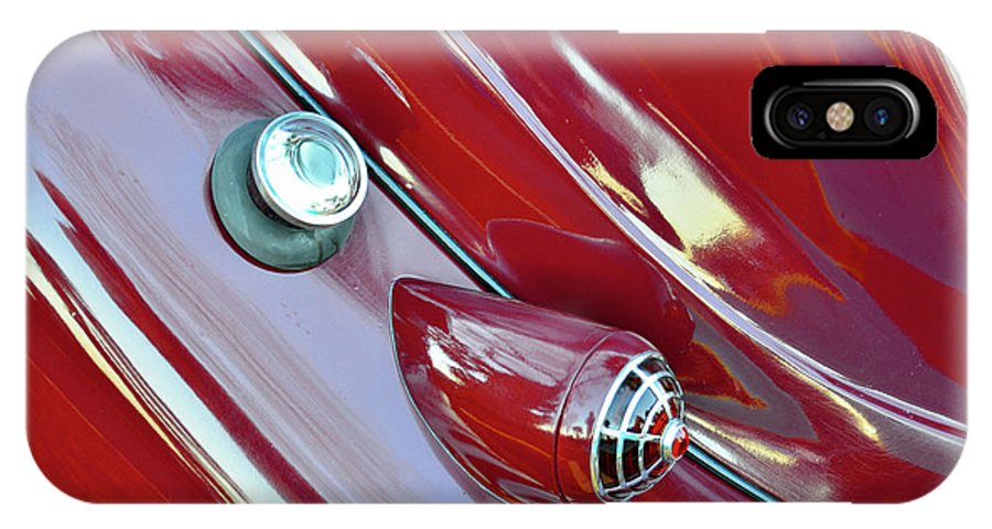 1936 Chrysler Airflow IPhone X Case featuring the photograph 1936 Chrysler Airflow B by David Lee Thompson