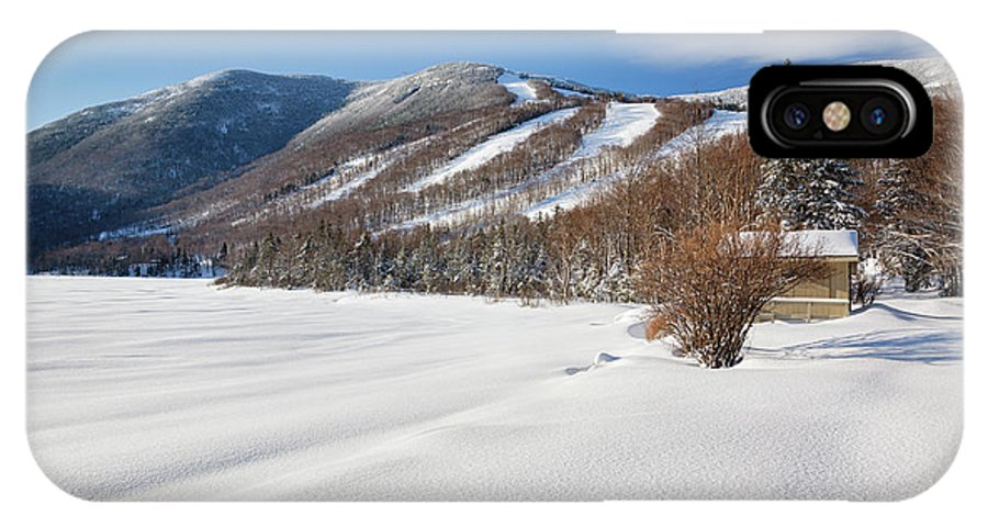 Franconia Notch State Park IPhone X Case featuring the photograph Cannon Mountain - White Mountains New Hampshire by Erin Paul Donovan