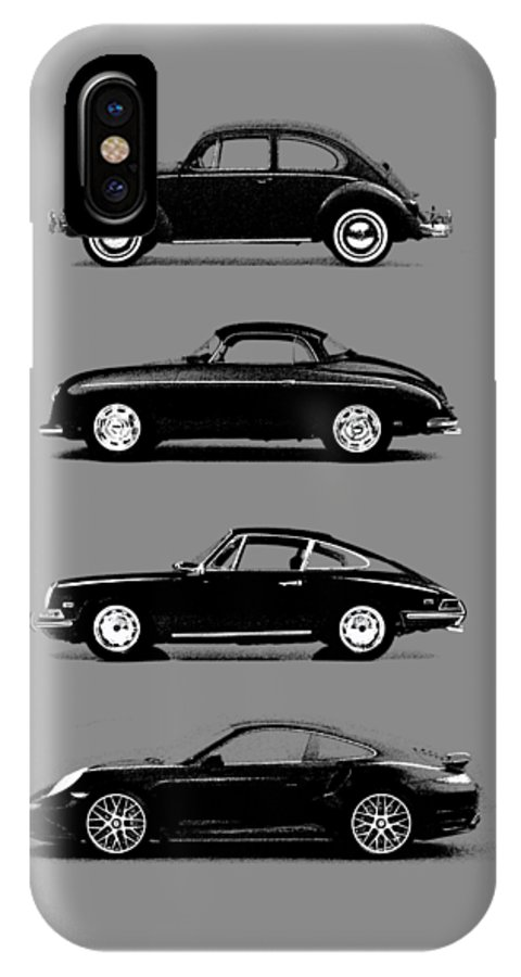 Porsche IPhone X Case featuring the photograph Evolution by Mark Rogan