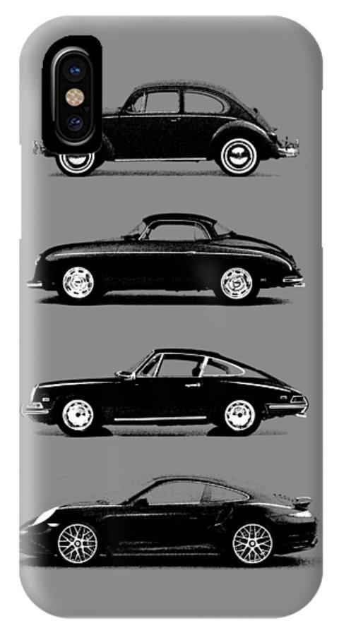 Porsche IPhone X Case featuring the photograph Evolution by Mark Rogan