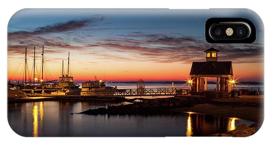 Yorktown IPhone X Case featuring the photograph Awaken by James Hardison