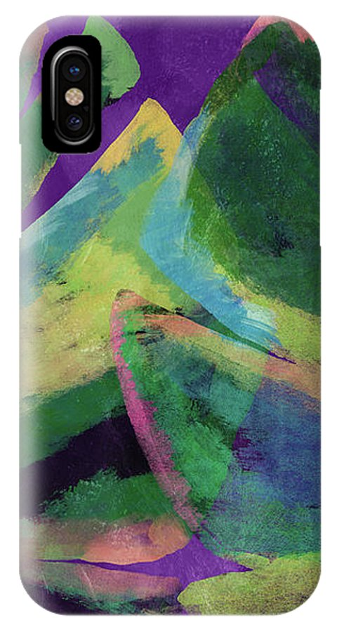 Tropical Art IPhone X Case featuring the mixed media Bold Tropical Dreams- Art By Linda Woods by Linda Woods