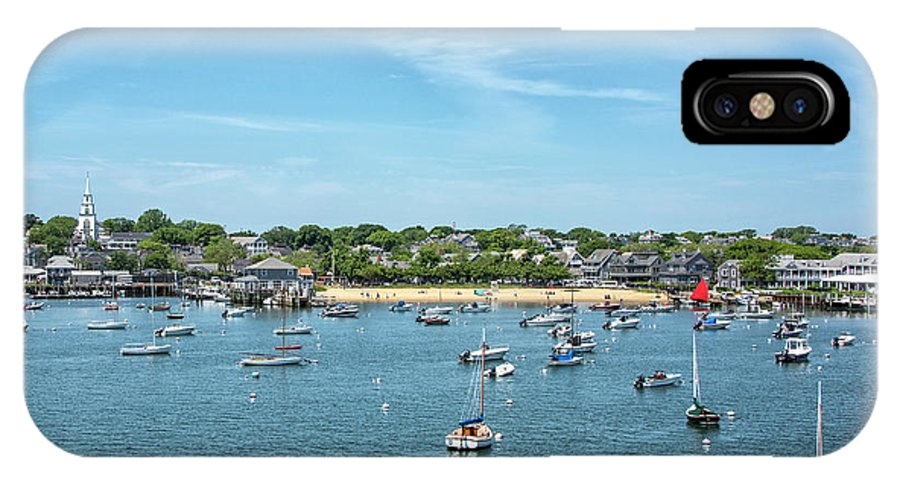 Childrens IPhone X Case featuring the photograph Childrens Beach - Nantucket Harbor - Massachusetts by Brendan Reals