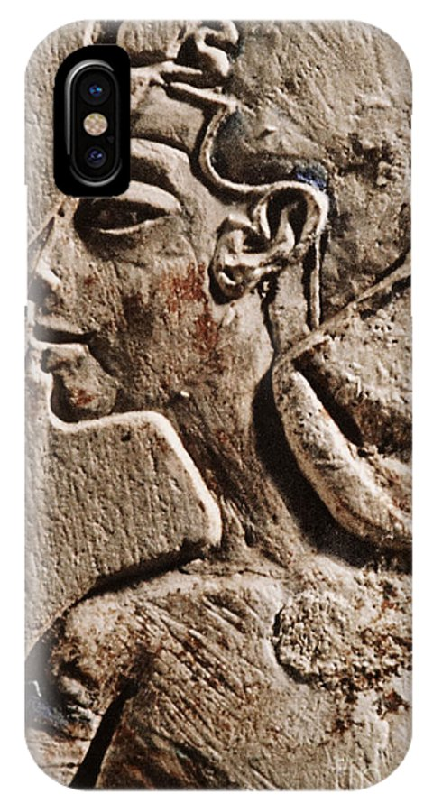Cleopatra IPhone X Case featuring the photograph Cleopatra by Sue Harper