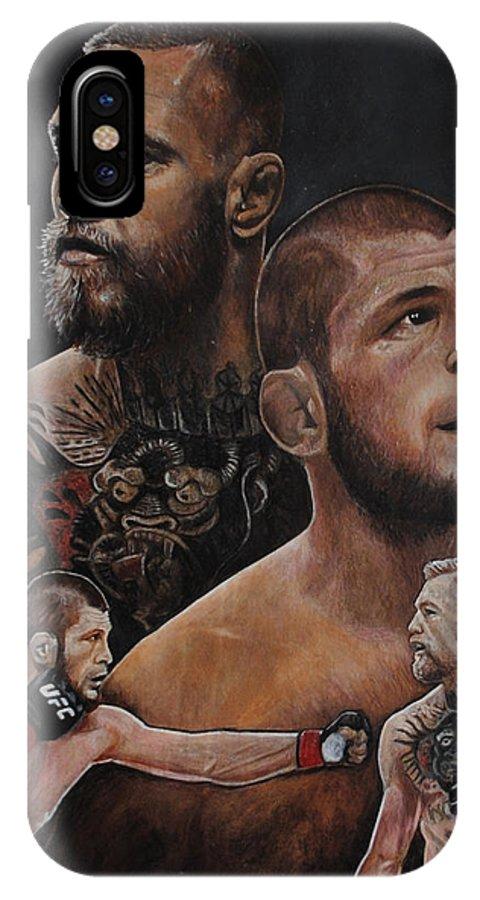 Conor McGregor artwork fighter MMA UFC 2 iphone case