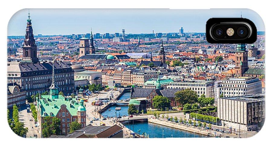 Capital IPhone X Case featuring the photograph Copenhagen City, Denmark, Scandinavia by S-f