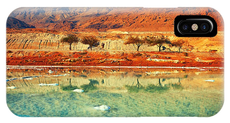 Beauty IPhone X Case featuring the photograph Dead Sea by Vvvita