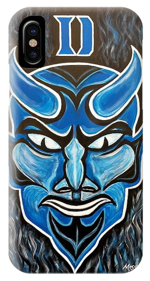 the latest 4f0d5 10f4d Duke Blue Devils IPhone X Case
