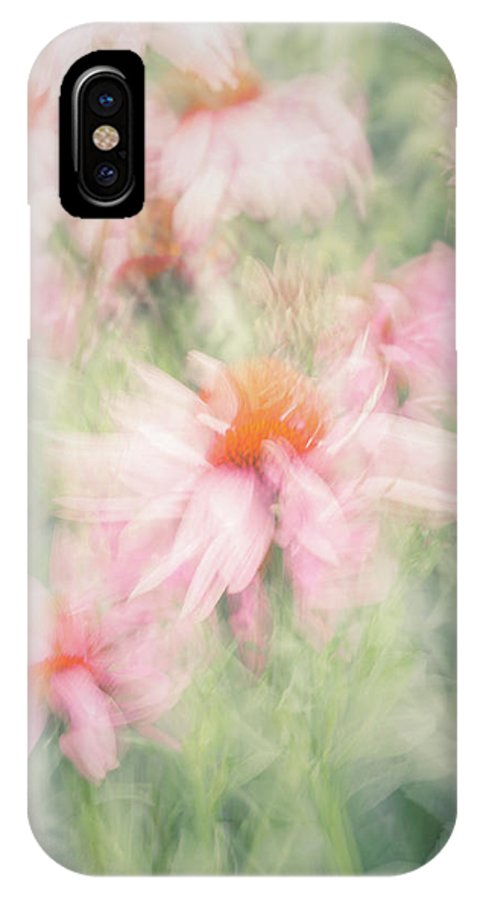 Flower IPhone X Case featuring the photograph Echinacea by Jo Stephen