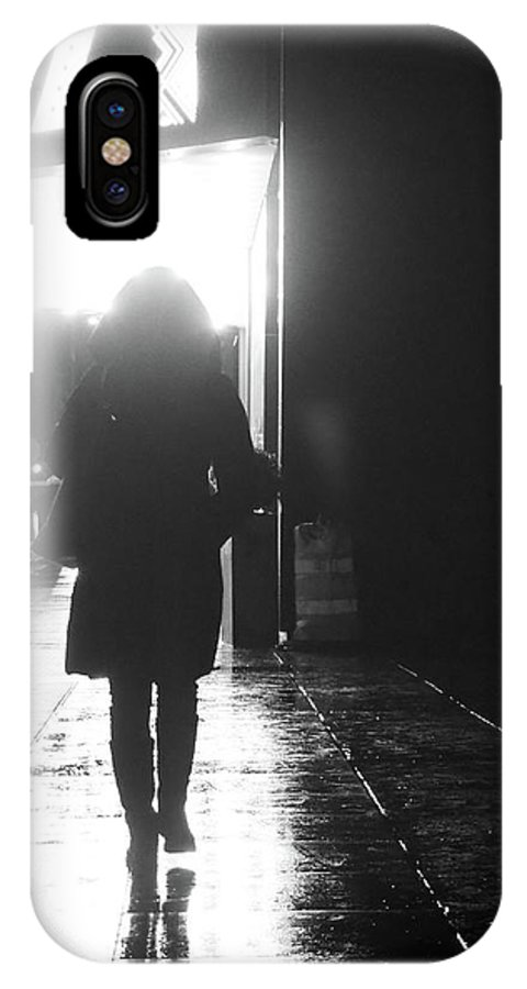 Street Photography IPhone X Case featuring the photograph from A 2 Z by The Artist Project