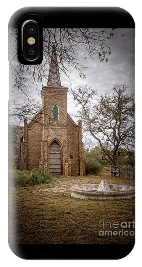 Gothic Revival Church IPhone X Case featuring the photograph Gothic Revival Church by Imagery by Charly