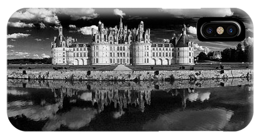 Photography IPhone X Case featuring the photograph Loire Castle, Chateau De Chambord by Panoramic Images