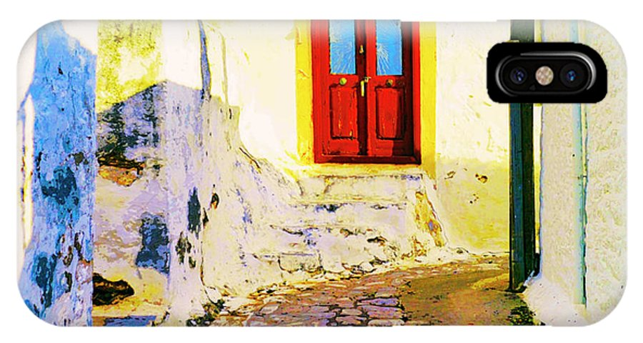 Alley IPhone X Case featuring the photograph Morning Light Sicily by Dominic Piperata
