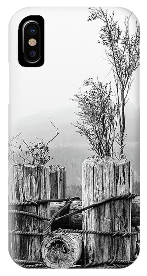 Landscapes IPhone X Case featuring the photograph New From Old by Claude Dalley