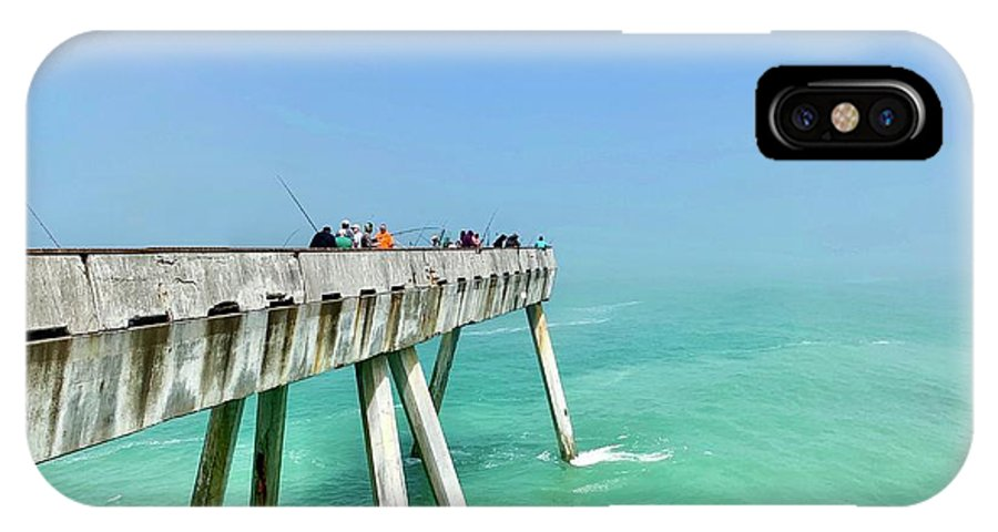 Pier IPhone X Case featuring the photograph Pacifica Pier 1 by Julie Gebhardt