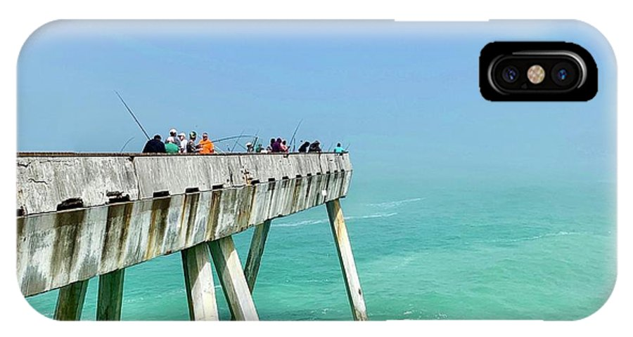 Pier IPhone X Case featuring the photograph Pacifica Pier 2 by Julie Gebhardt