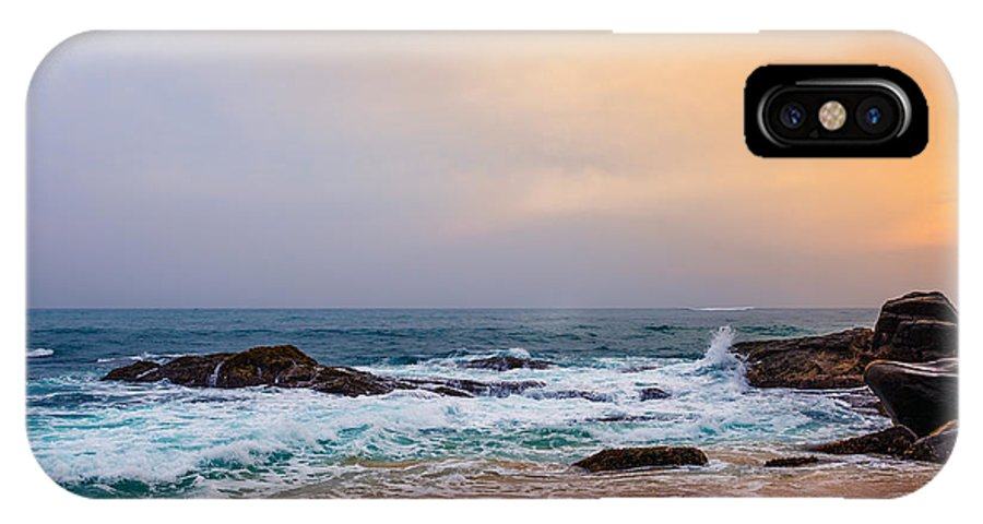 Palm Tropical Beach Landscape Sunset Iphone X Case