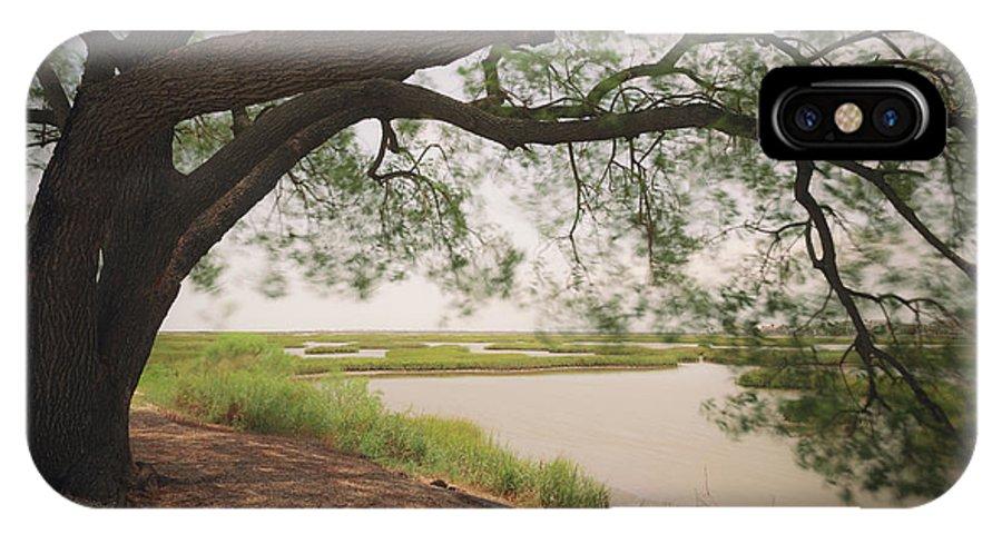 Pierce Marsh IPhone X Case featuring the photograph Pierce Marsh by Ray Devlin