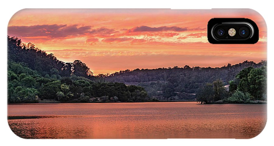 Sunrise IPhone X Case featuring the photograph Promise And Peace by Tran Boelsterli
