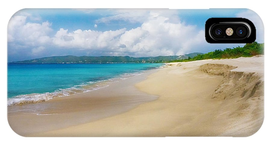 Ocean IPhone X Case featuring the photograph Retreating Tide by Amanda Jones