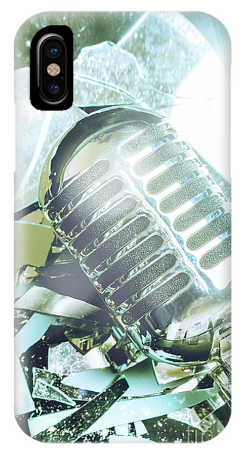 Blues IPhone X Case featuring the photograph Smashing Performance by Jorgo Photography - Wall Art Gallery