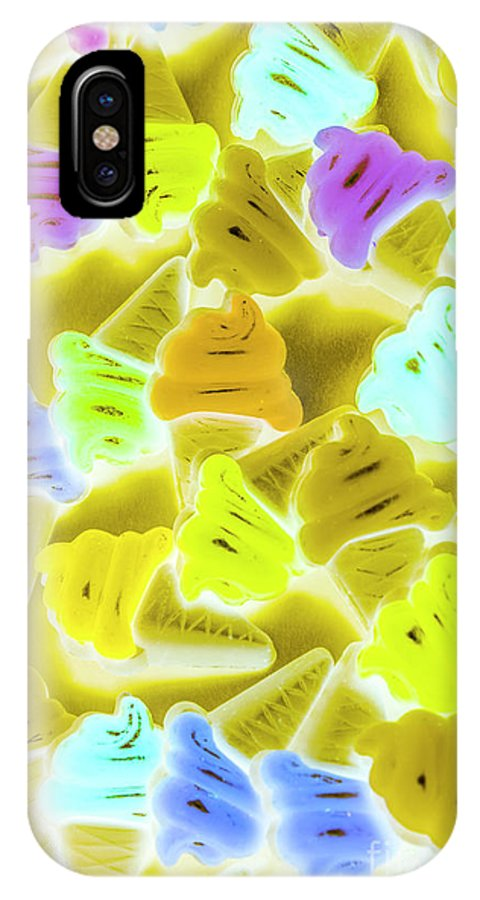 Dessert IPhone X Case featuring the photograph Summer Twist by Jorgo Photography - Wall Art Gallery