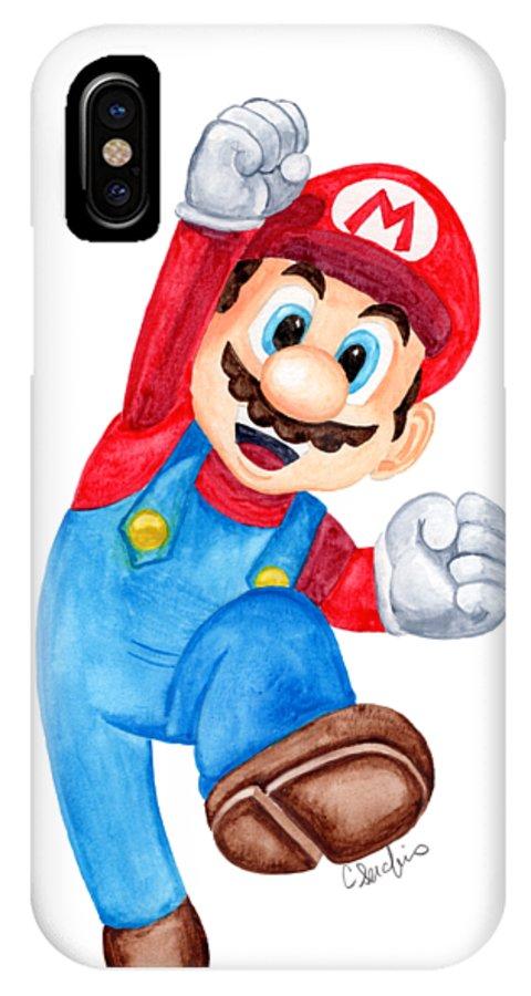half off e284f 81239 Super Mario Fan Art IPhone X Case