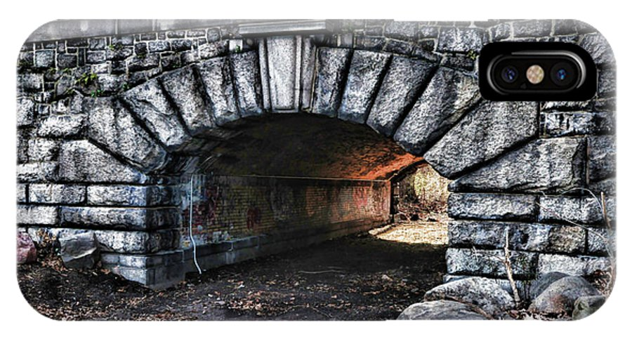 Paul Ward IPhone X Case featuring the photograph The Underpass by Paul Ward