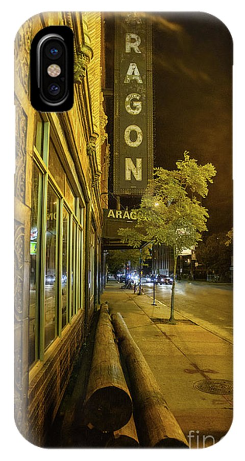 Aragon IPhone X Case featuring the photograph The Uptown Aragon by Bruno Passigatti