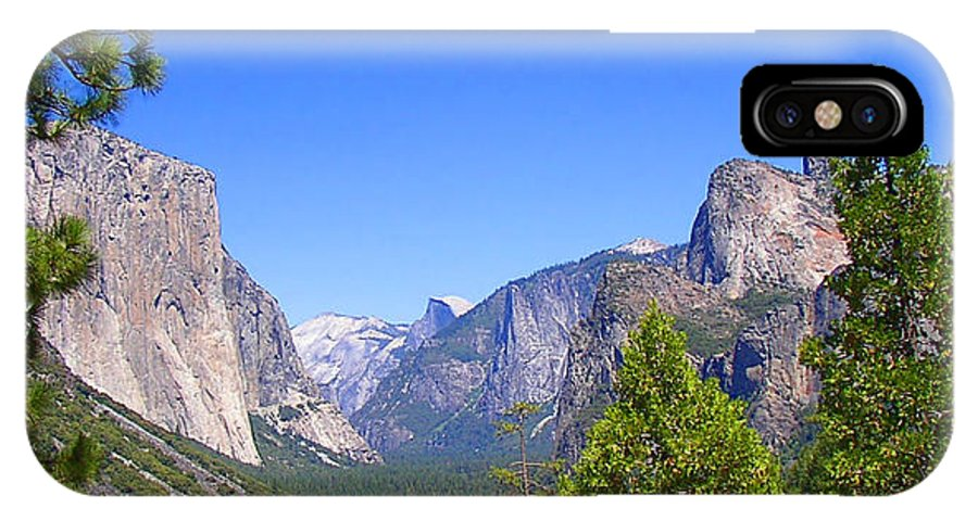 Yosemite IPhone X Case featuring the photograph The Valley Of Inspiration-yosemite by Glenn McCarthy Art and Photography