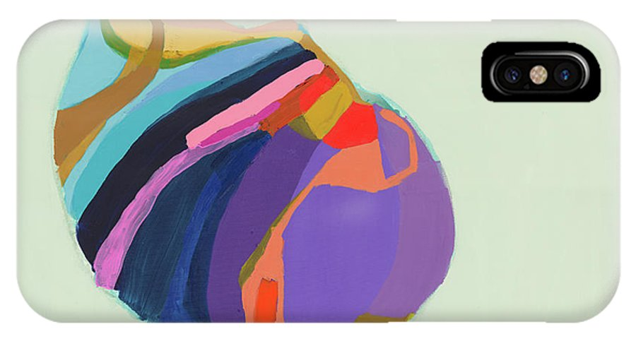 Abstract IPhone X Case featuring the photograph The Waiting Game by Claire Desjardins