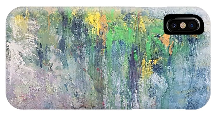 Monet IPhone X Case featuring the painting The Water's Edge by Kurt Hausmann