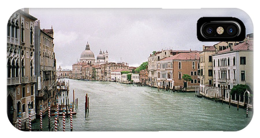 Europe IPhone X Case featuring the photograph Venice Grand Canal by Dick Goodman