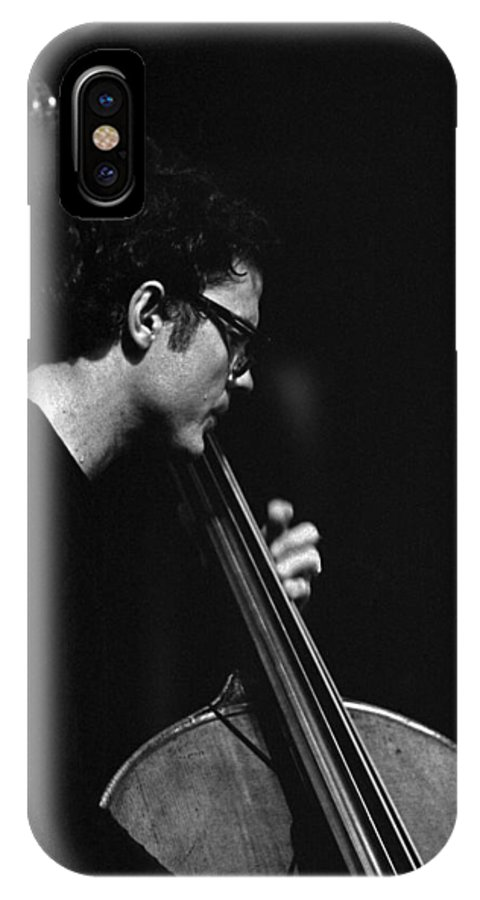 Charlie Haden IPhone X Case featuring the photograph Charlie Haden by Lee Santa