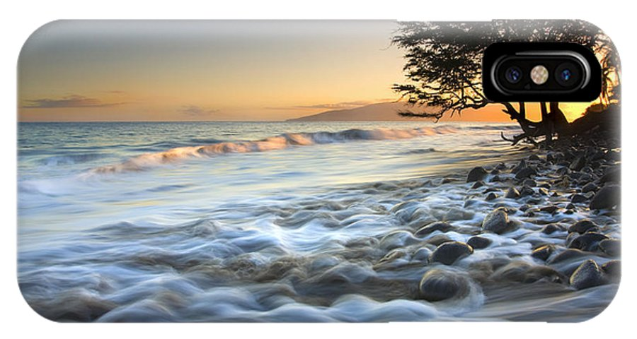 Sea IPhone X Case featuring the photograph Ebb and Flow by Mike Dawson